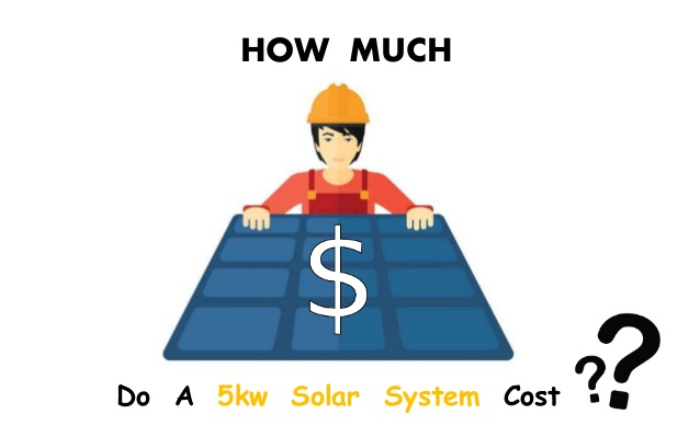 5kW solar system,