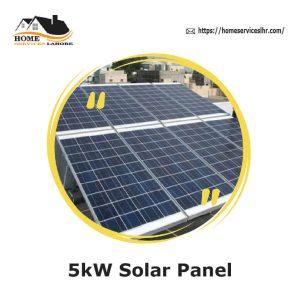 5kW Solar Panel,